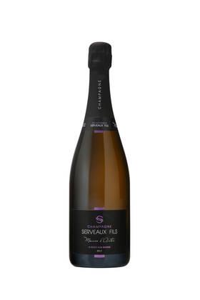Champagne Serveaux Fils - meunier d'antan brut nature - Blanc