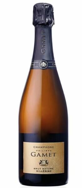 Champagne Gamet - millésime - Pétillant - 2013