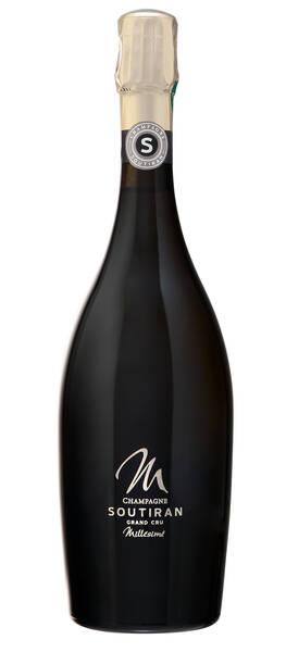 Champagne Soutiran - cuvée millésimée grand cru - Pétillant - 2012