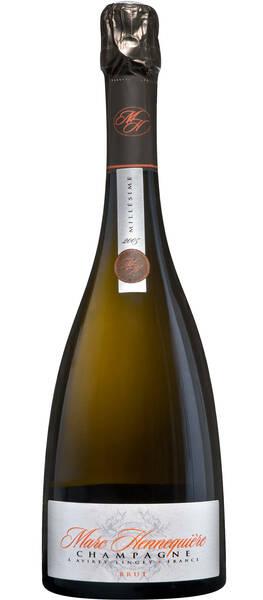 Champagne Marc HENNEQUIERE - millésime - Pétillant - 2006