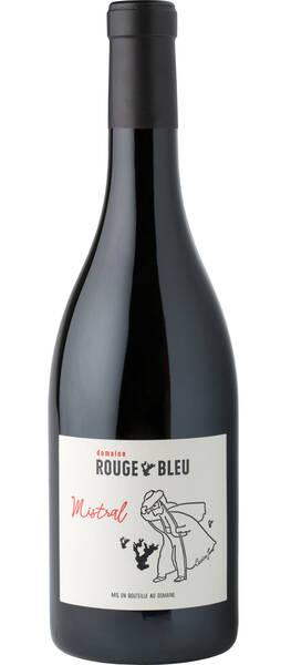 Domaine Rouge-Bleu - mistral - Rouge - 2016
