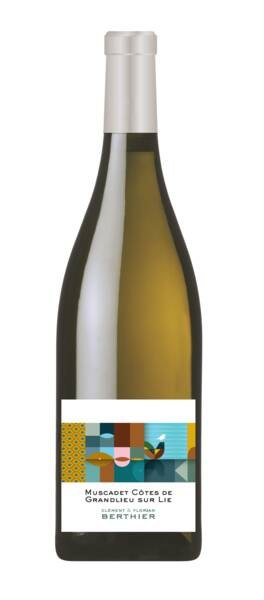Vignobles Berthier - les originals* - muscadet de côtes de granlieu sur lie - Blanc - 2020