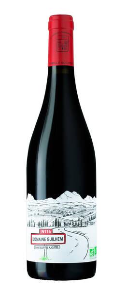 Château Guilhem - n116 - vin sans sulfites ajoutés - Rouge - 2020