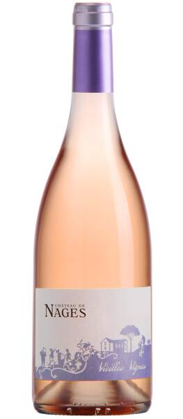 Château de Nages - Famille Gassier - vieilles vignes - Rosé - 2019