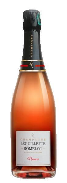 Champagne LEGUILLETTE ROMELOT - nuances - Rosé