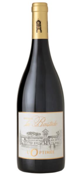 Château la Bastide - optimee médaille d'or concours paris  & argent concours bruxelles 2020 - Rouge - 2017