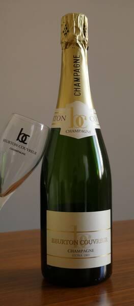 Champagne Beurton Couvreur - extra dry - âgé - Pétillant