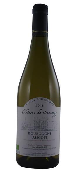 Château de Sassangy - Domaine Musso - bourgogne aligoté - Blanc - 2018
