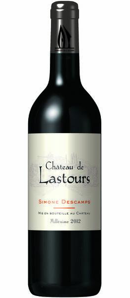 Château de Lastours - Simone Descamps - Rouge - 2014