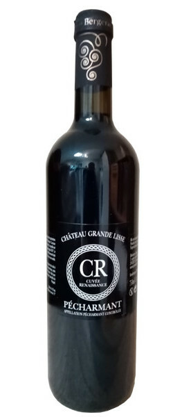Château Grande Lisse - cuvée renaissance - Rouge - 2019