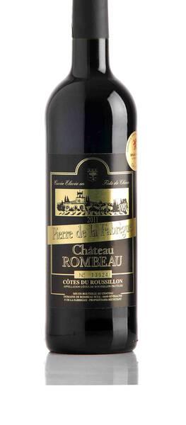 Domaine de Rombeau  - pierre de la fabrègue - Rouge - 2018