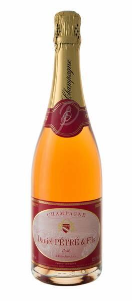 Champagne Daniel Pétré et Fils - cuvée - Rosé