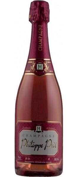 Champagne Prié - brut rosé - Pétillant