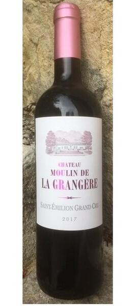 La Grangère - château moulin de   - médaille argent bordeaux 2019 - Rouge - 2017