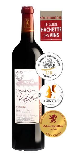Domaine de la Valière - cuvée confidences or - Rouge - 2013