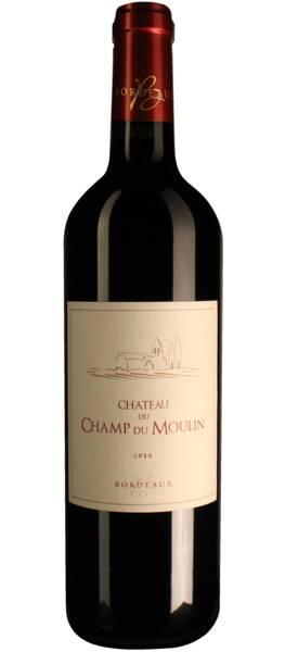 Château du Champ du Moulin - bordeaux supérieur  – - Rouge - 2018