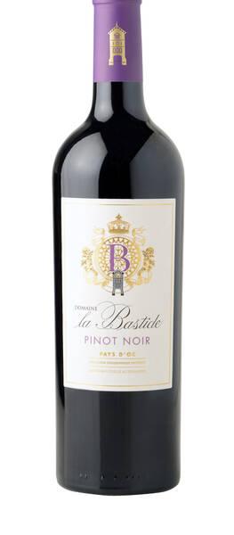 Château la Bastide - pinot noir médaille d'argent concours des vins de lyon 2021 - Rouge - 2020