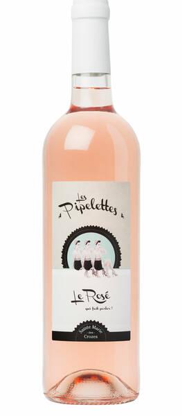 Sainte Marie Des Crozes - les pipelettes - Rosé - 2020