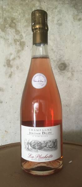 champagne BLIN Jérôme - la pluchotte - Rosé