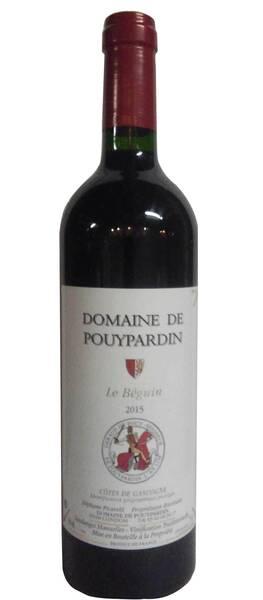 Domaine de Pouypardin - le béguin - Rouge - 2015