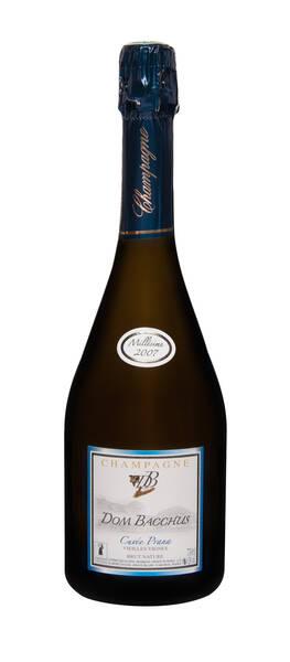 Champagne Dom Bacchus - cuvée prana - brut zéro - Pétillant - 2012