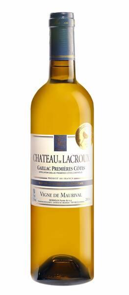 Lacroux de Lincarque - château de  - vigne de maurival - Blanc - 2017