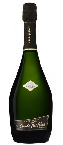 Champagne Claude Farfelan - brut prestige - Pétillant - 2012