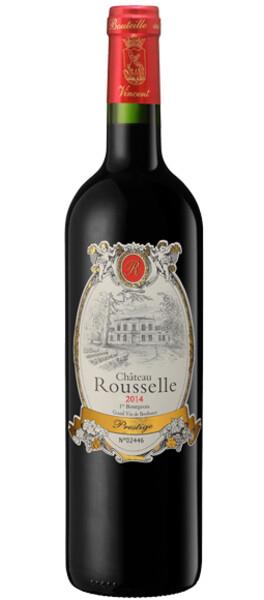 CHÂTEAU ROUSSELLE - cuvée prestige - Rouge - 2016