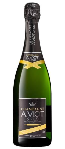 Champagne A. Viot et Fils - prestige 100% chardonnay - Blanc