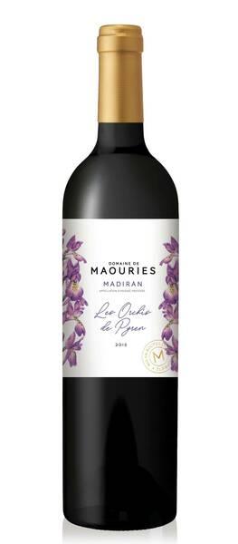 Domaine de Maouries - les orchis de pyren - Rouge - 2018