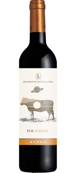 Domaine Sainte Luchaire - pur terroir syrah - Rouge - 2019