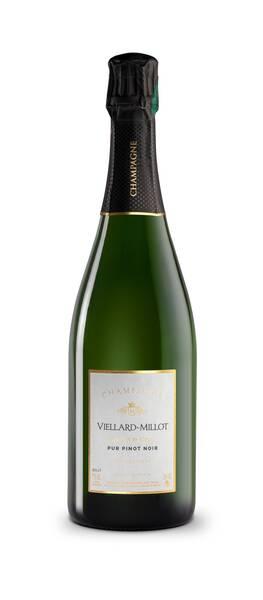 Champagne VIELLARD-MILLOT - pur pinot noir - Pétillant