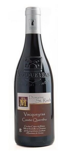 Domaine Saint Roch - vacqueyras quentho - Rouge - 2017