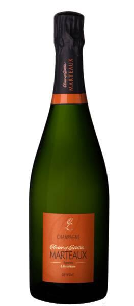 Champagne Olivier et Laetitia Marteaux - brut reserve - Pétillant