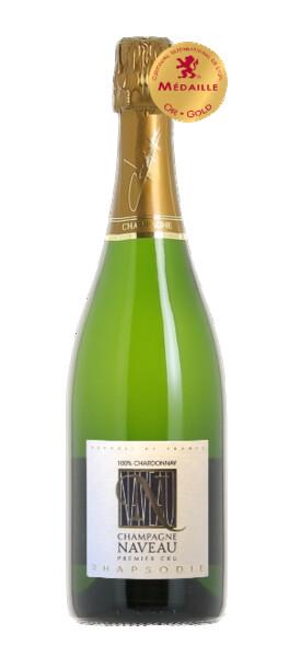 Champagne Naveau - rhapsodie blanc de blancs brut 1er cru - Pétillant - 2009