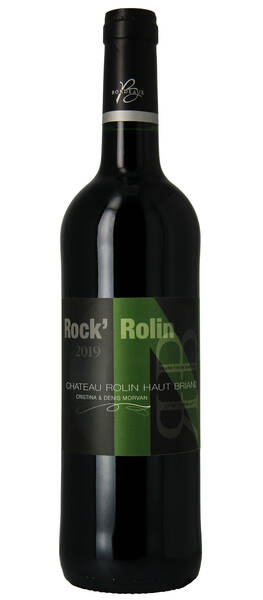 Château Rolin Haut Briand  - rock'n - Rouge - 2019