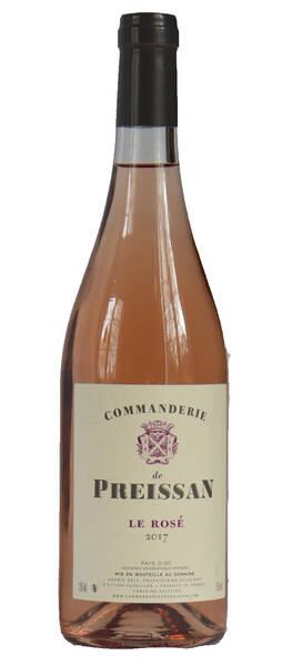 Commanderie de Preissan - rosé - Rosé - 2020