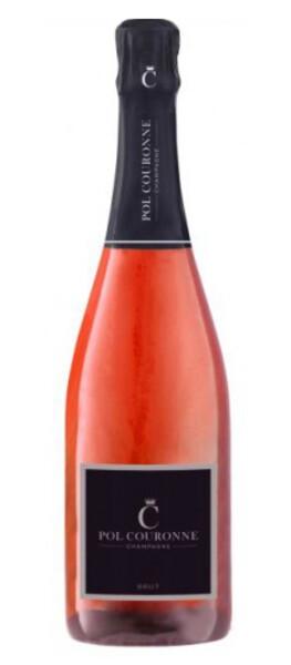 CHAMPAGNE POL COURONNE - brut rosé - Pétillant