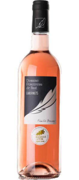 Domaine Poncereau de Haut - de cabernet - Rosé - 2019