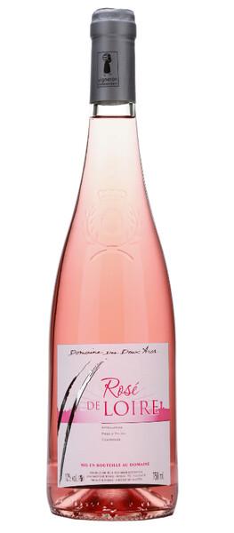 Domaine Des Deux Arcs - de loire - liger d'argent au concours  vins du val de loire 2020 - Rosé - 2019