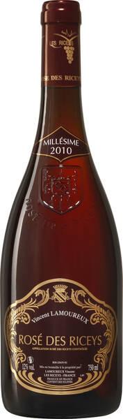 CHAMPAGNE VINCENT LAMOUREUX - vin  des riceys - Rosé - 2015