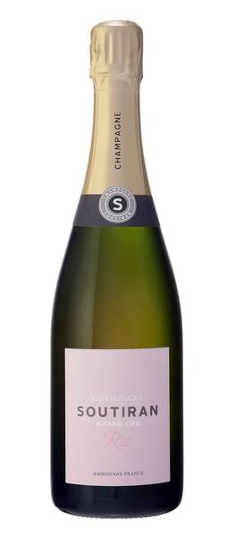 Champagne Soutiran - soutiran-rosé grand cru - Rosé