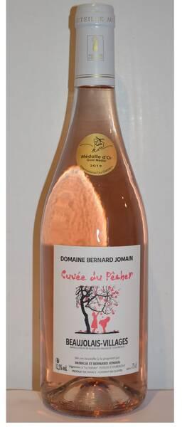 Domaine Bernard Jomain - la cuvée du pêcher - Rosé