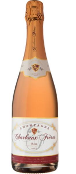 Champagne Charbaux Frères - rosé - Pétillant
