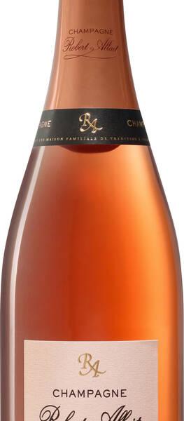 Champagne Robert-Allait - cuvée  brut - Rosé