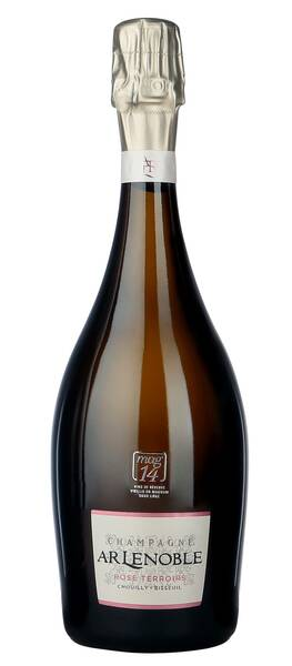 Champagne A.R Lenoble - rose terroirs