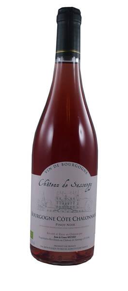 Château de Sassangy - Domaine Musso - bourgogne  pinot noir - Rosé - 2017