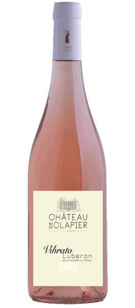 Château de Clapier - vibrato - Rosé - 2019