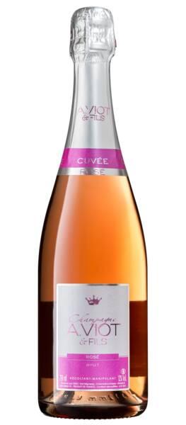 Champagne A. Viot et Fils - champagne rosé - Rosé