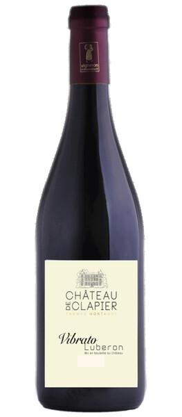 Château de Clapier - vibrato - Rouge - 2019